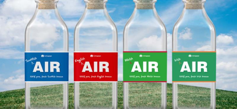 شركة بريطانية تبيع الهواء في زجاجات بقيمة 112 ريالًا !