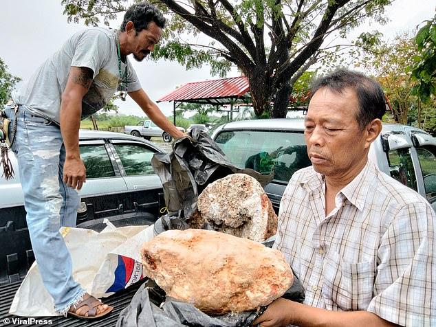 صياد فقير يصبح مليونيرًا بعد عثوره على قيء الحوت !