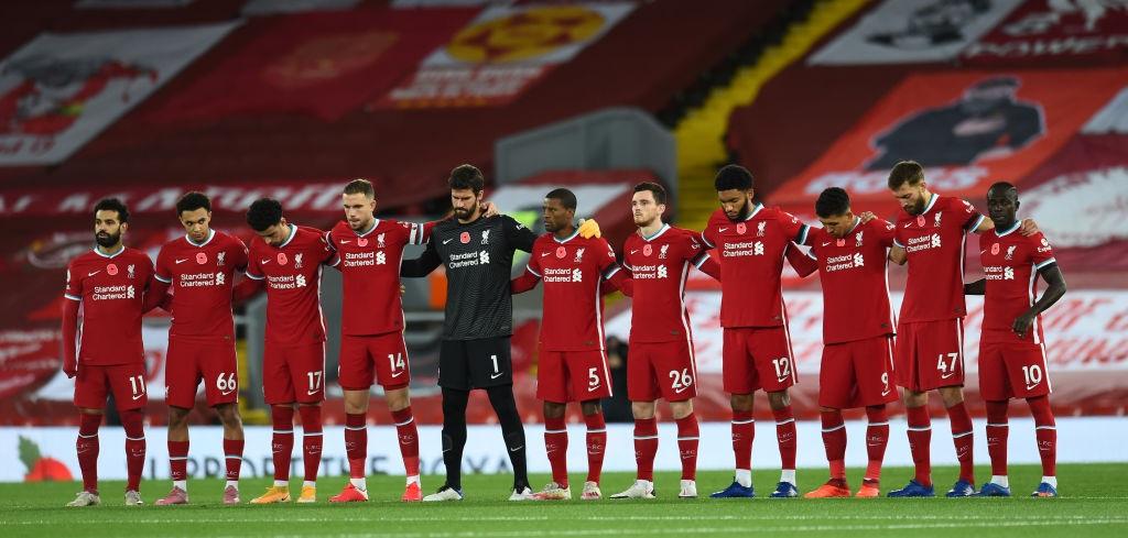 ليفربول يُعاني في ختام 2020