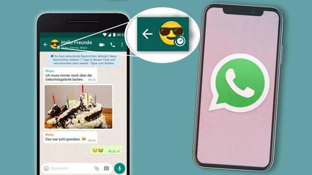 ماذا يعني رمز الساعة الصغيرة على صورة ملفك في WhatsApp ؟