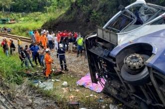 16 قتيلاً إثر سقوط حافلة من جسر مرتفع في البرازيل - المواطن