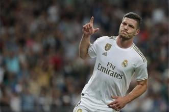 لوكا يوفيتش لاعب ريال مدريد