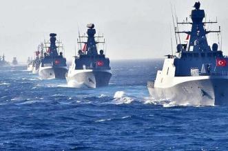 الجيش الليبي يرصد سفناً حربية تركية قبالة سواحل سرت - المواطن