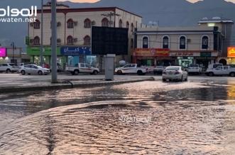ارتفاع منسوب المياه في ترقش محايل يعطل المرور ومطالب بسرعة الحل - المواطن