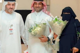 مواطنة ثمانينية تحتفل باليوم الوطني الإماراتي بطريقتها الخاصة بالقنفذة - المواطن