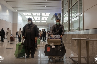 وصول فوج من معتمري باكستان إلى مطار الملك عبدالعزيز بجدة - المواطن