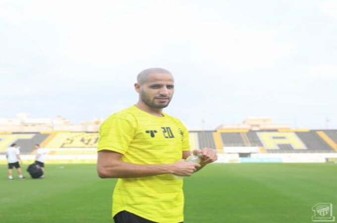 كريم الأحمدي يعود لـ تدريبات الاتحاد بعد شفائه من كورونا