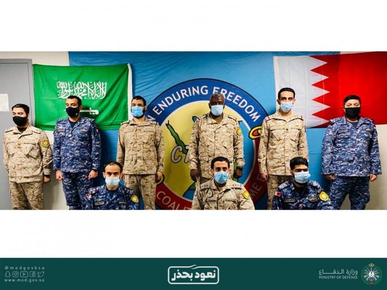 شاهد.. البحرية السعودية تضبط شحنة مخدرات ضخمة في بحر العرب - المواطن