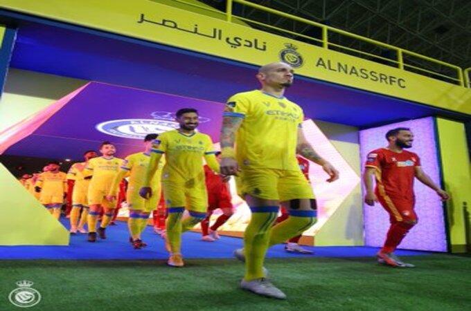 شاهد .. خطأ مايكون الكارثي بـ مباراة النصر وضمك في دوري محمد بن سلمان