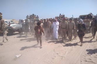 شاهد فيديو عملية فصل القوات في أبين وخروجها من عدن - المواطن