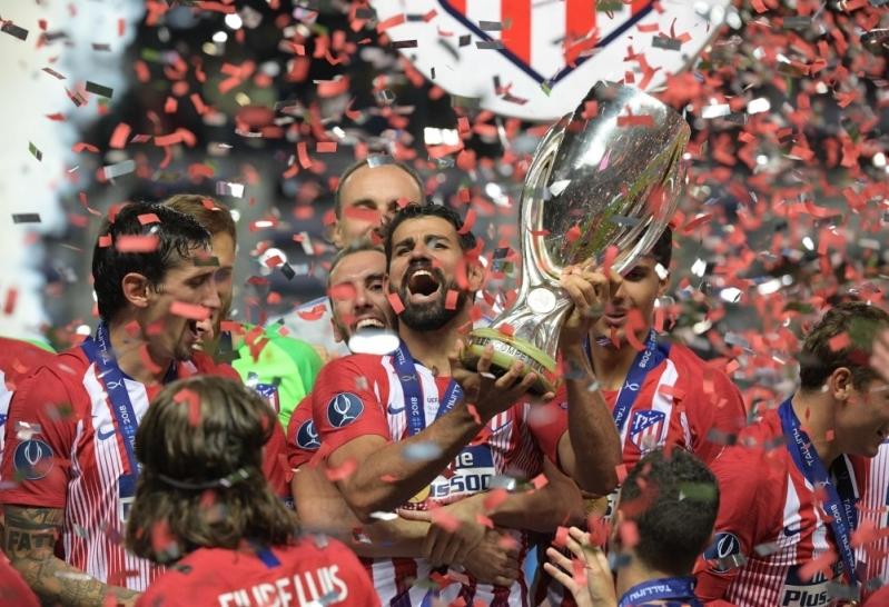 أتلتيكو مدريد بطل السوبر الاوروبي