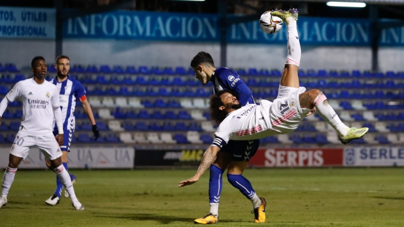 ألكويانو ضد ريال مدريد