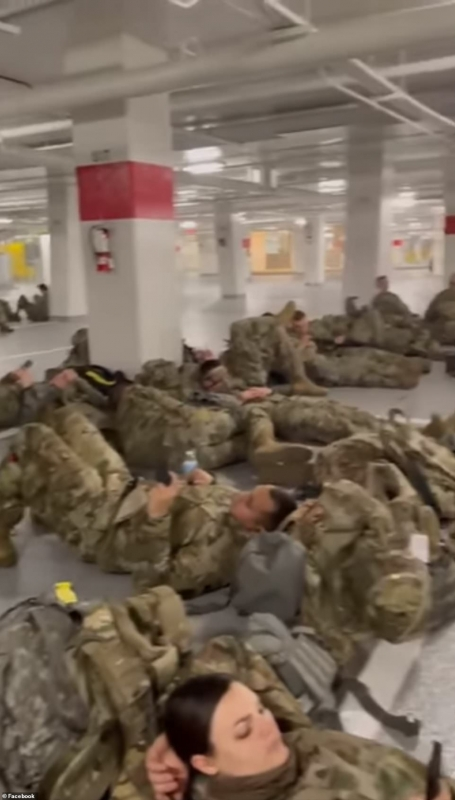 إدارة جو بايدن تثير غضب الحرس الوطني بعد نبذهم بالعراء (1)