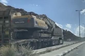 ضبط قائد شاحنة قاد عكس السير في الطائف - المواطن