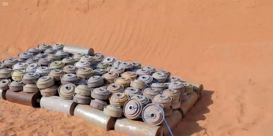 تفكيك شبكات ألغام حوثية شمال وغرب اليمن