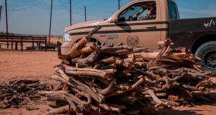 ضبط أكثر من 12 طنًّا من الحطب المحلي في الرياض