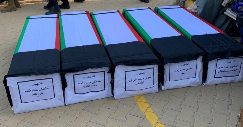 الكويت تشيع جثامين 13 أسيرًا استشهدوا في العراق قبل 30 عامًا