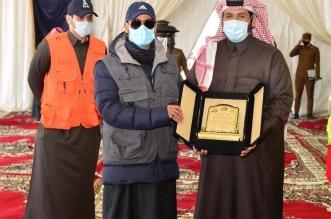 نائب أمير حائل يكرم المراعي لرعايتها قافلة درب زبيدة - المواطن