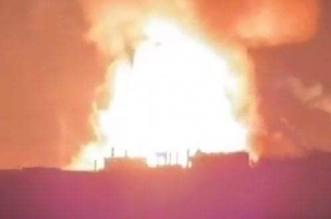 فيديو.. انفجار ضخم في خزانات الوقود على الحدود اللبنانية السورية - المواطن