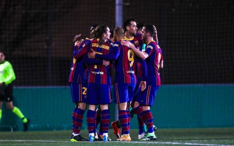 برشلونة في كأس ملك إسبانيا