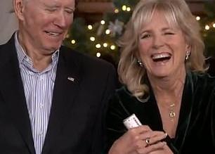 جو بايدن وزوجته يتعرضان لموقف محرج على الهواء مباشرة (3)