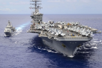 البنتاغون: حاملة الطائرات ستبقى في الخليج لمواجهة تهديدات إيران - المواطن