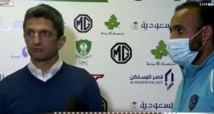 مدرب الهلال عن الحكم ماجد الشمراني: ما فعله معيب !