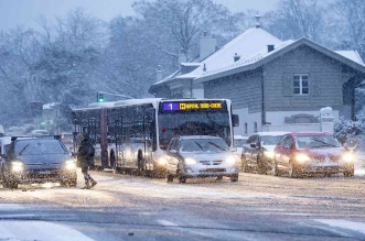 فوضى في فرنسا بسبب الثلوج - المواطن