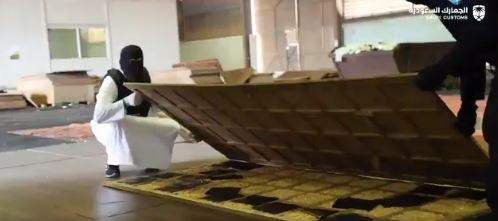 فيديو .. الجمارك تحبط تهريب 14.4 مليون حبة كبتاجون