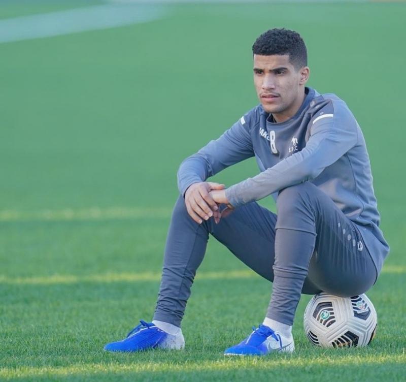 لاعب الاتفاق حامد الغامدي