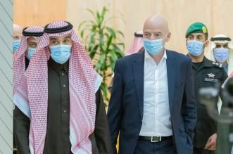 عبدالعزيز بن تركي الفيصل وإنفانتينو