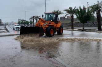 فرق الطوارئ في البرك تنزح أكثر من 245 طنًّا من مياه الأمطار - المواطن