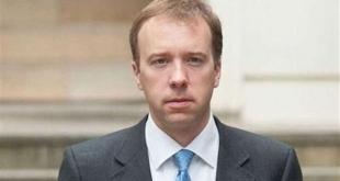 وزير الصحة البريطاني يعزل نفسه ذاتياً