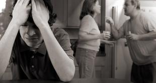 المشاجرة بين الوالدين قد تتسبب في مشاكل عقلية بين الأطفال