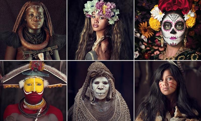 مصور بريطاني يجسد جمال وروح السكان الأصليين من جميع أنحاء العالم