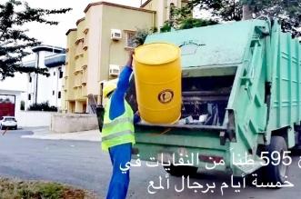 رفع 595 طنًّا من النفايات في رجال ألمع - المواطن