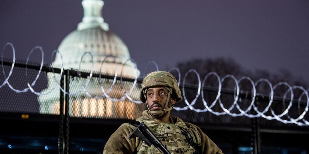 واشنطن تتحول لثكنة عسكرية تأهباً لتنصيب بايدن
