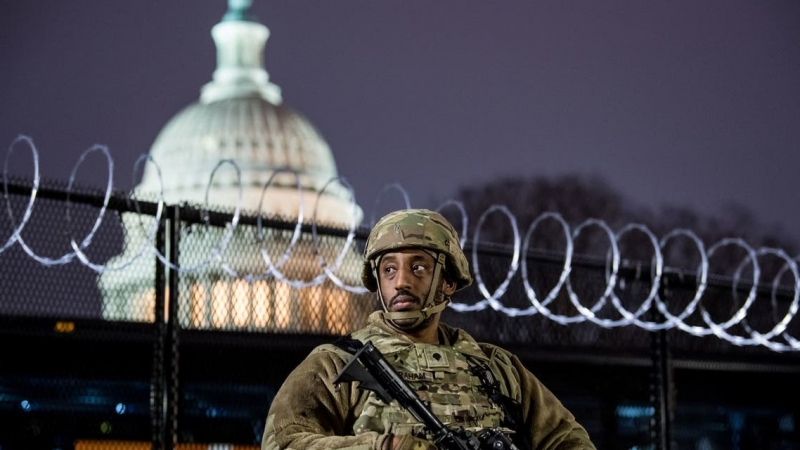 واشنطن تتحول لثكنة عسكرية تأهباً لتنصيب بايدن - المواطن