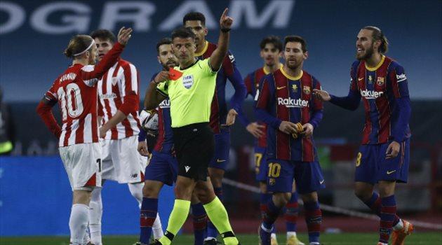ليونيل ميسي مُهدد بالإيقاف في 12 مباراة