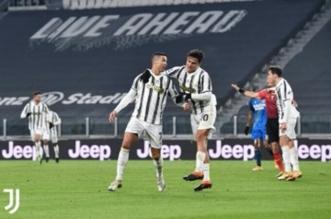 رونالدو في مباراة يوفنتوس وأودينيزي