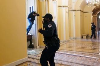 نشر عناصر الحرس الوطني و 200 جندي في واشنطن وإصابات بطلقات نارية - المواطن
