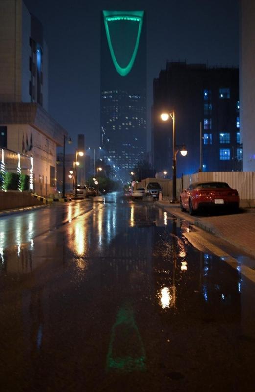 شاهد بالصور.. أجواء الرياض بعد هطول الأمطار - المواطن