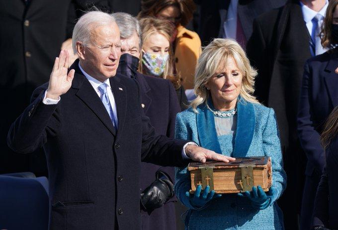 ريما بنت بندر تعلق على تنصيب جو بايدن رئيسًا لأمريكا - المواطن