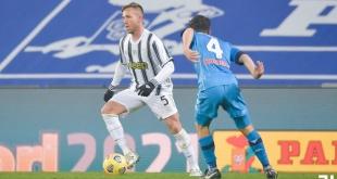 يوفنتوس بطلًا لـ كأس السوبر الإيطالي بثنائية في نابولي