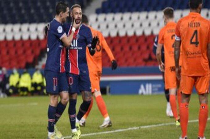 ترتيب باريس سان جيرمان في الدوري الفرنسي بعد فوزه برباعية