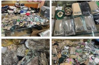 ضبط 600 بدلة عسكرية و2500 من الأنواط والرتب بـ الرياض - المواطن