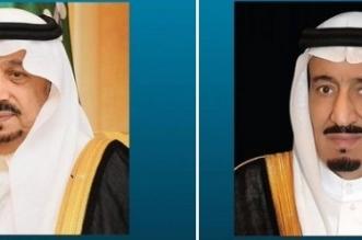 الملك سلمان وأمير الرياض