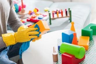 غسل الألعاب البلاستيكية يحمي الأطفال من الميكروبات