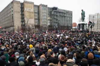 مظاهرات روسيا