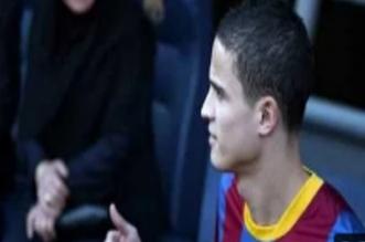 إبراهيم أفيلاي لاعب برشلونة